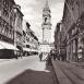 Reichenstraße mit Reichenturm, Mitte der 30er Jahre