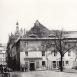Lauenturm mit Blick in die Innere Lauenstraße, etwa 1913 (am Lauenturm finden gerade Arbeiten am Denkmal für König Albert von Sachsen statt-Enthüllung 1913)