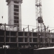 Bau des Hochhauses