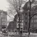 Kornmarkt, rechts Dresdner Bank, Blick vor dem Hochhausbau, vor 1945