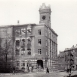 Die alte Lessingschule (heute Haus der Sorben) nach 1945
